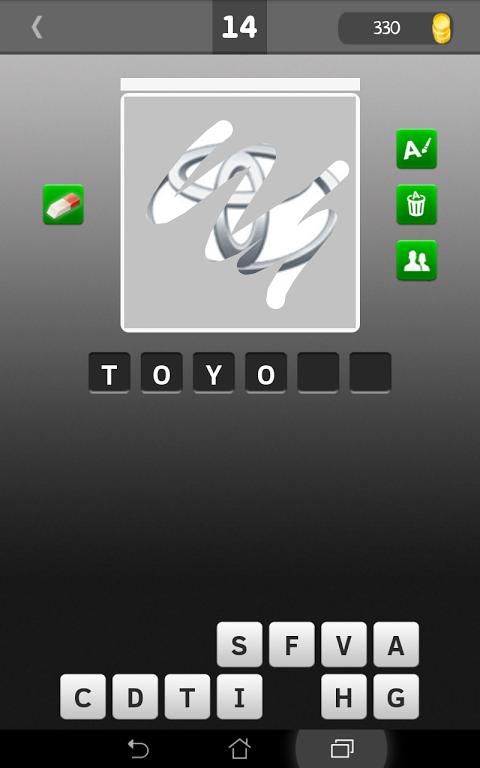 Android Scratch Car Logos Quiz Screen 7