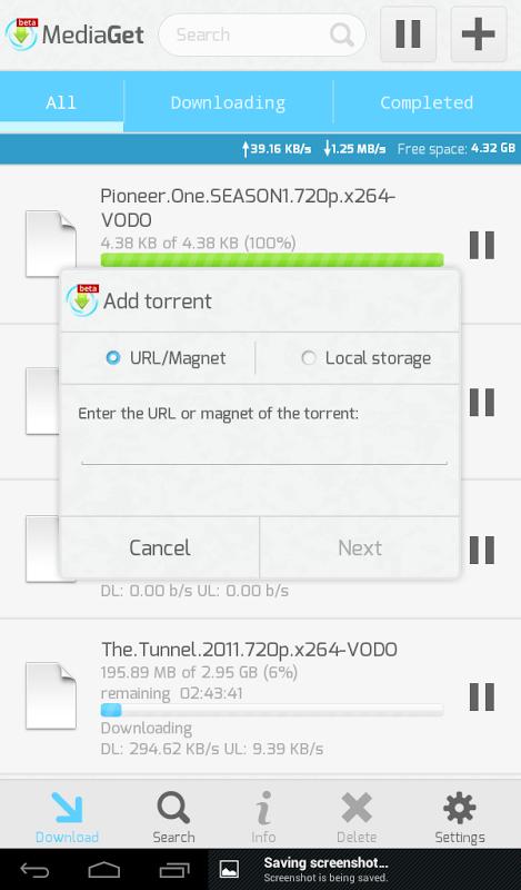 MediaGet 0.9.1 Screen 11