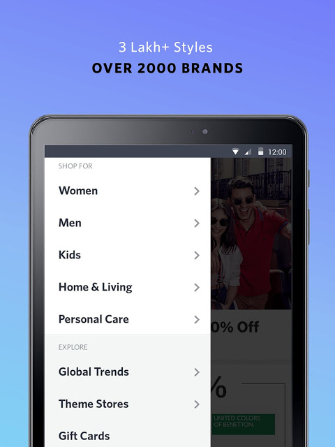 Android Myntra Online Shopping App Screen 13