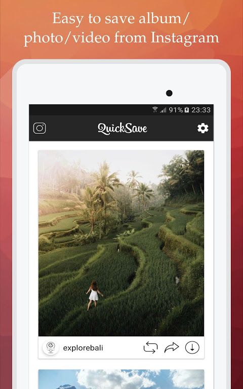 QuickSave for Instagram 2.2.9 Screen 7