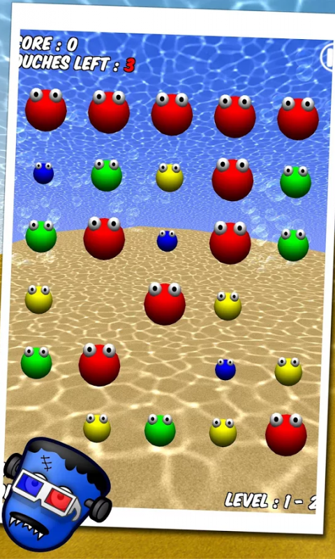 Android Bubble Blast 3D Screen 3