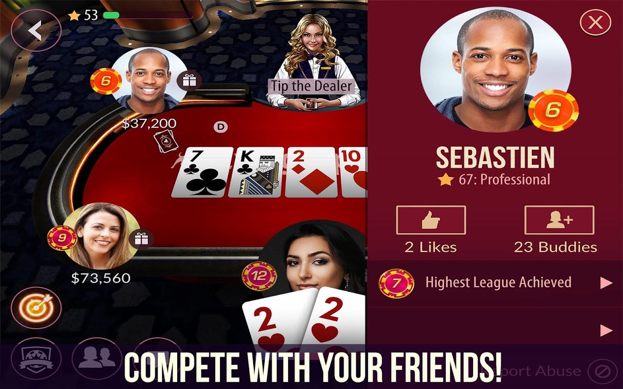 Zynga Poker – Texas Holdem 21.64 Screen 1