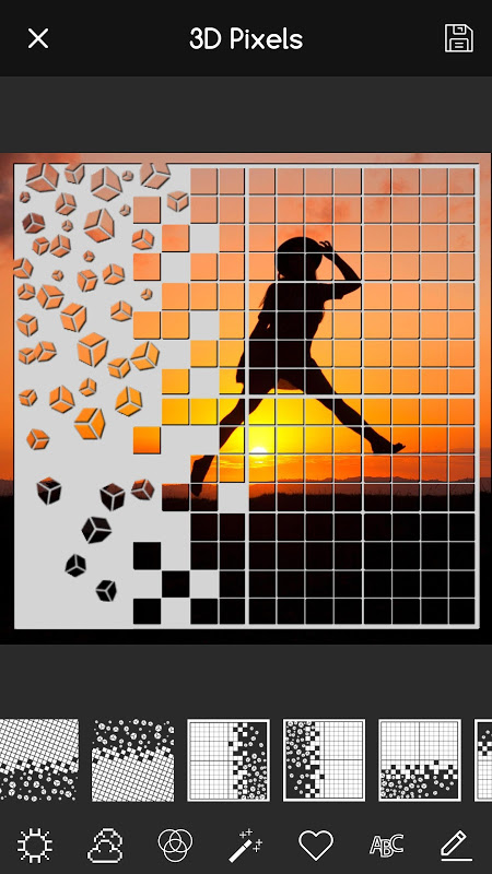 Overlay Pixel Effect Art for Pictures 1.9 Screen 3