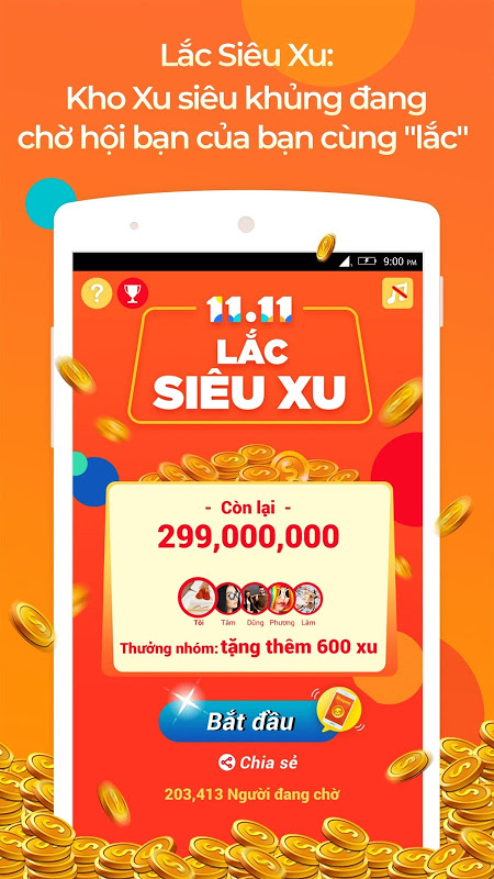 Shopee: 11.11 Siêu Sale 2.29.11 Screen 3