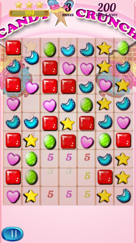 CandyCrunch Free 2.1 Screen 3