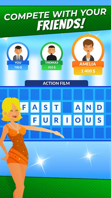 Wheel of Fortune - Quiz 2.0.21 Screen 1