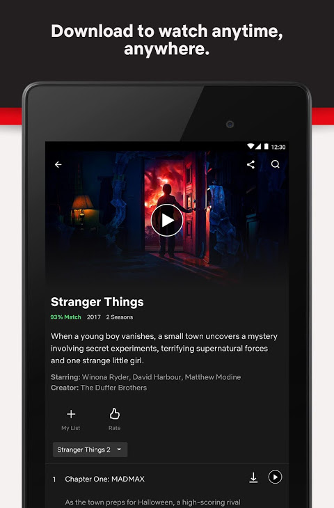 Netflix 6.21.0 build 12 31615 Screen 6