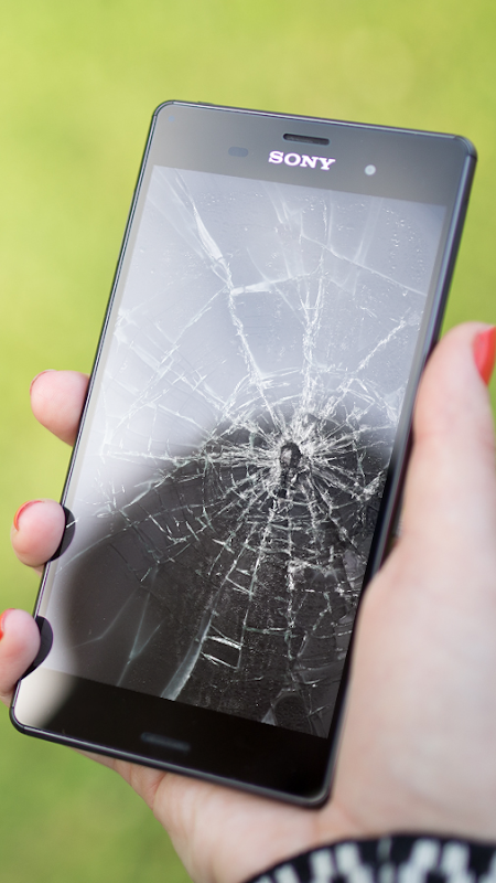 Android Cracked Screen Prank Screen 4