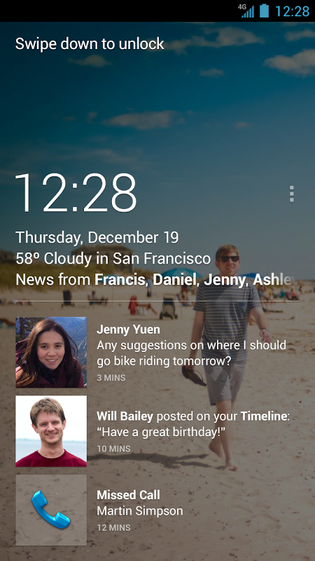 Android Home Screen 3