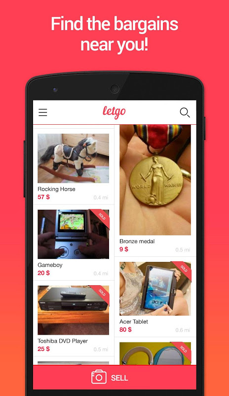 letgo: Buy & Sell Used Stuff 1.5.4 Screen 4