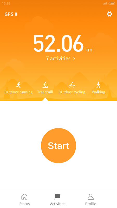 Mi Fit 3.5.4.1 Screen 1
