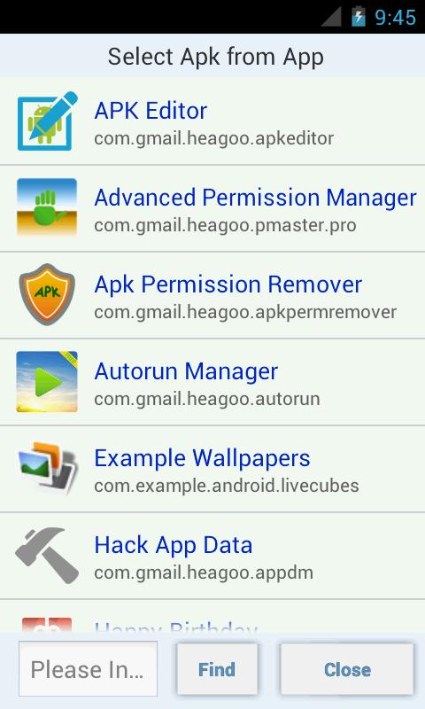 APK Editor Pro 1.9.10 Screen 1