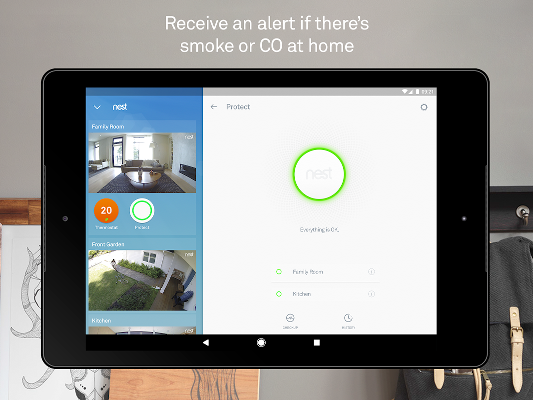 Android Nest Screen 6