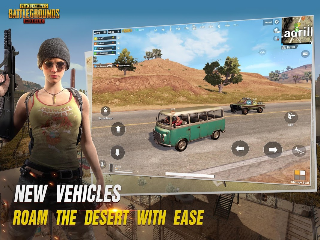 Android PUBG MOBILE Screen 9