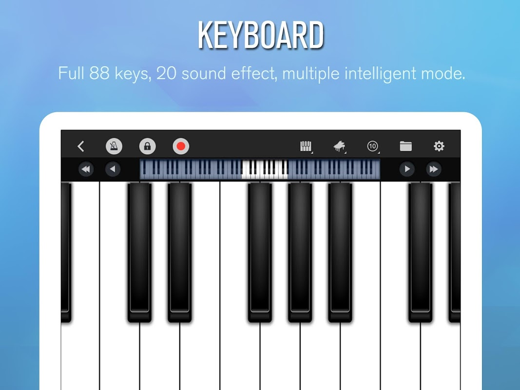 Android Perfect Piano Screen 7