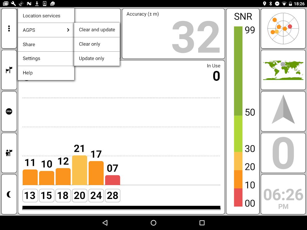 GPS Test 1.5.8 Screen 11