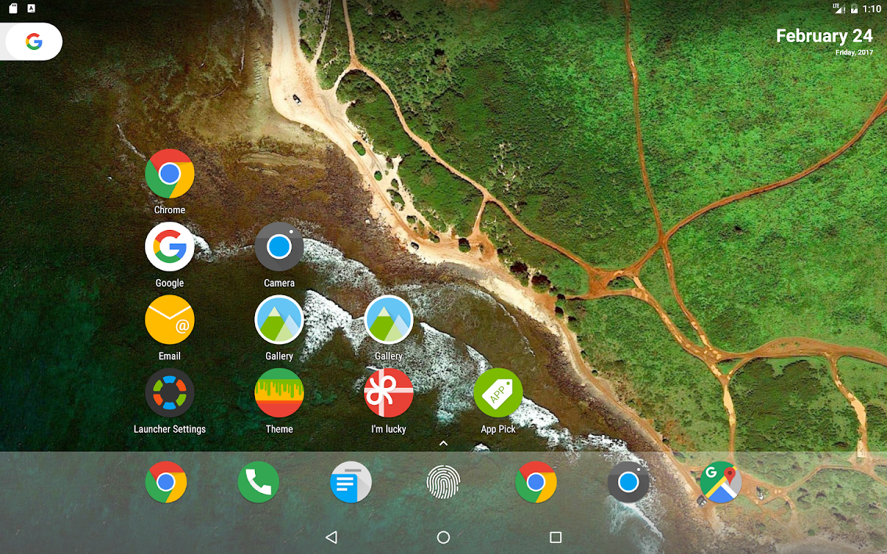 Android N Launcher Pro - Nougat 7.0 Screen 9