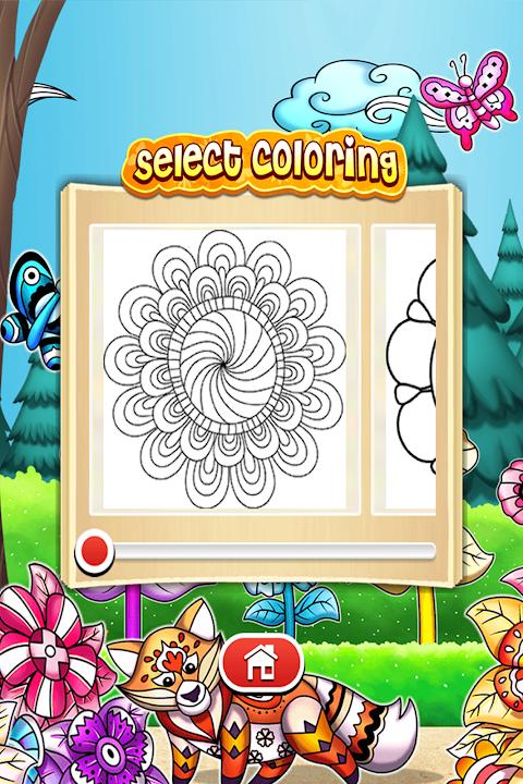 Mandala Coloring Pages 10.2.0 Screen 13