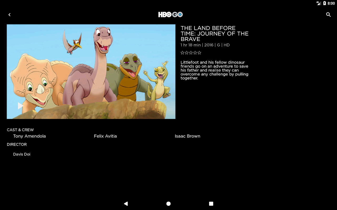 HBO GO Singapore 5.0.9 Screen 7