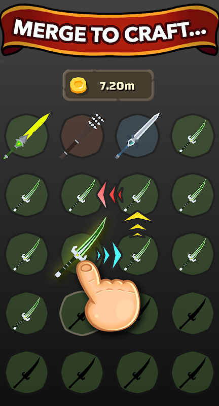 Blacksmith - Merge Idle RPG APKs | Android APK