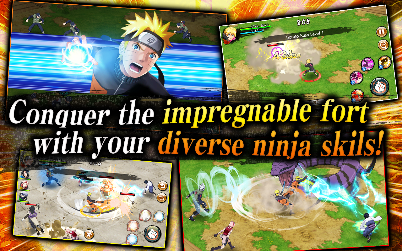 NARUTO X BORUTO NINJA VOLTAGE 1.0.4 Screen 1