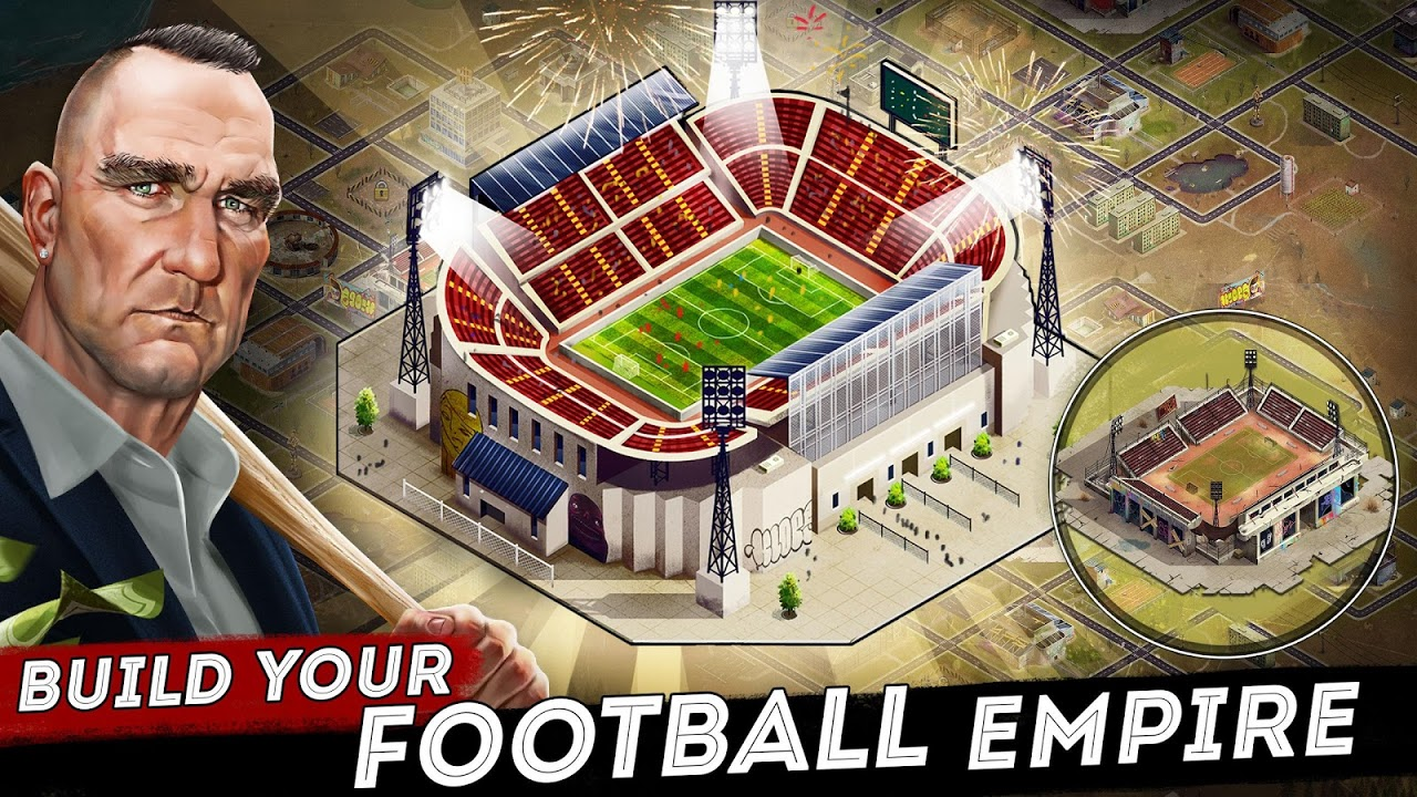 Android Underworld Football Manager - Bribe, Attack, Steal Screen 1
