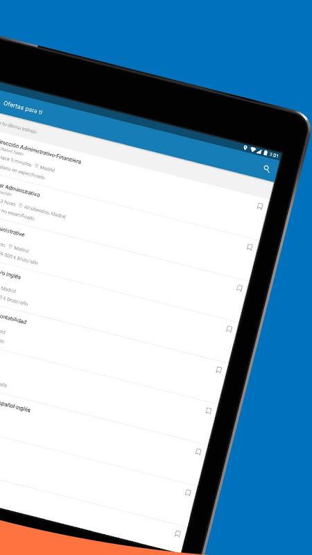 InfoJobs - Job Search 2.95.1 Screen 9