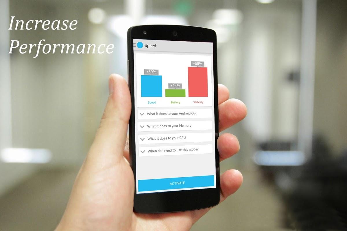 Android Single Core Processor Booster Screen 1