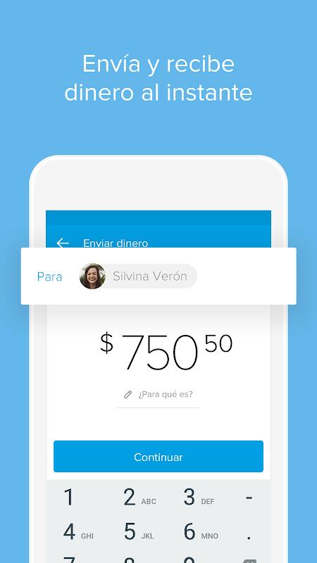 Android Mercado Pago: recargar saldo y pagar cuentas Screen 1