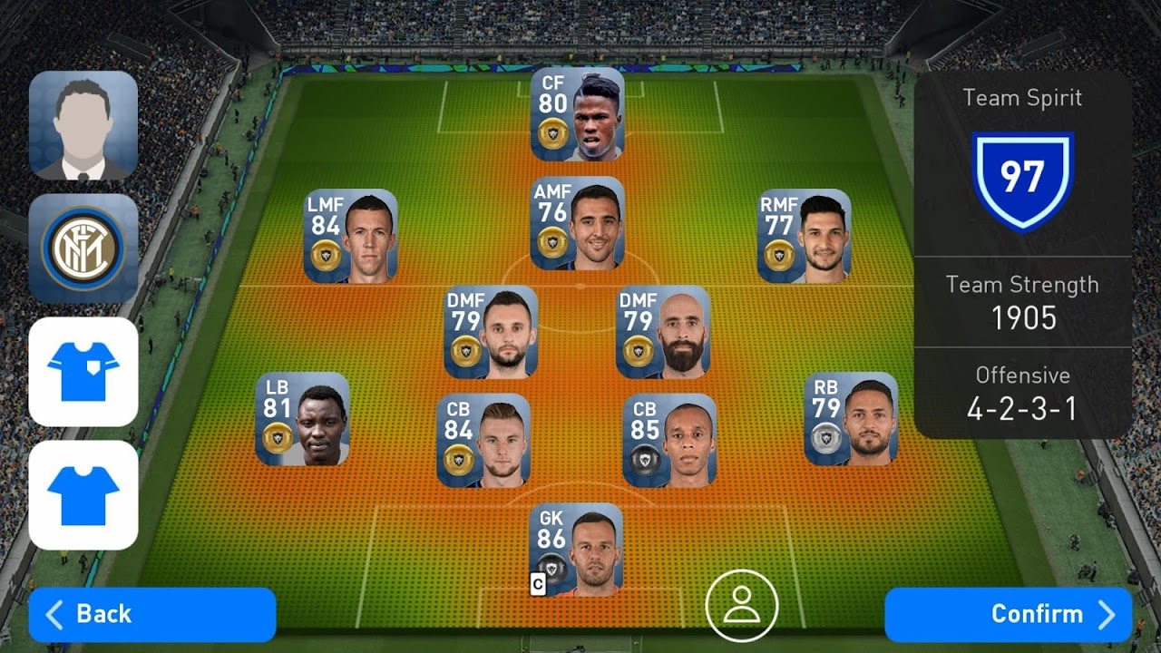 Android PES2017 -PRO EVOLUTION SOCCER- Screen 3