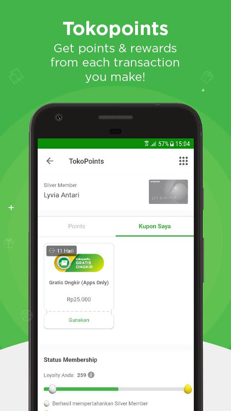 Android Tokopedia - Online Shopping & Mobile Recharge Screen 7