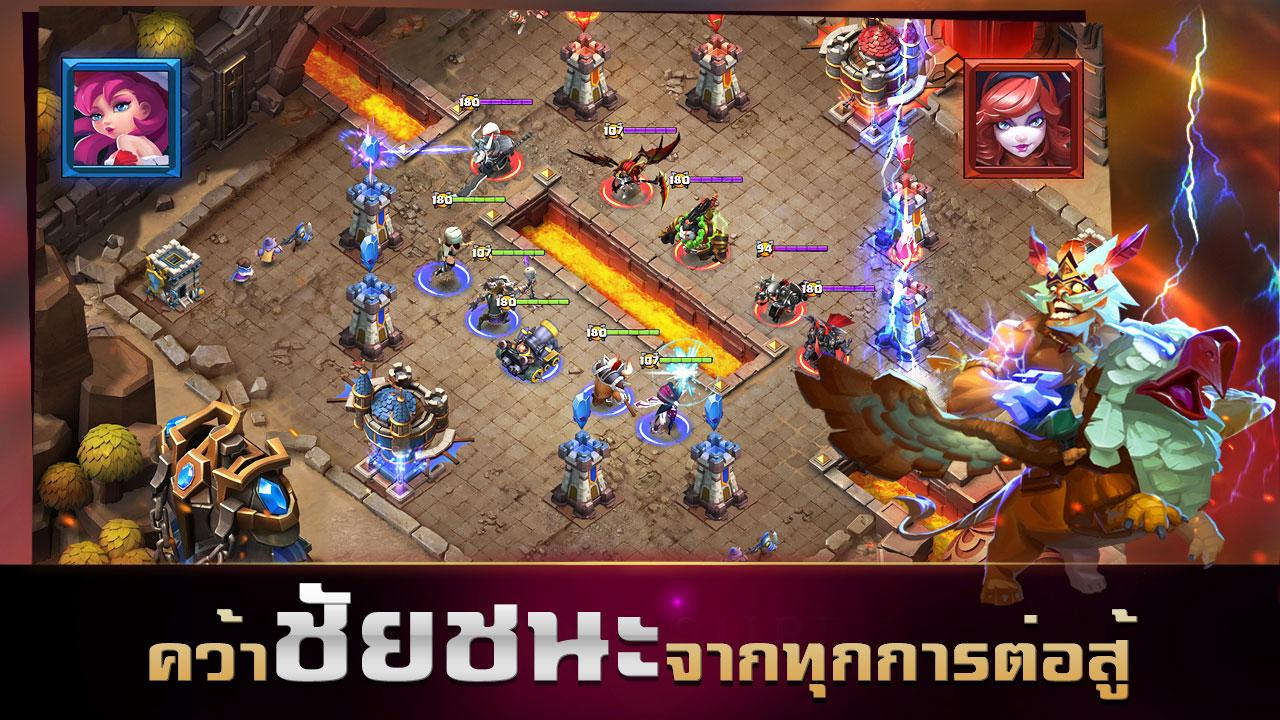 Android Clash of Lords 2: ล่าบัลลังก์ Screen 11