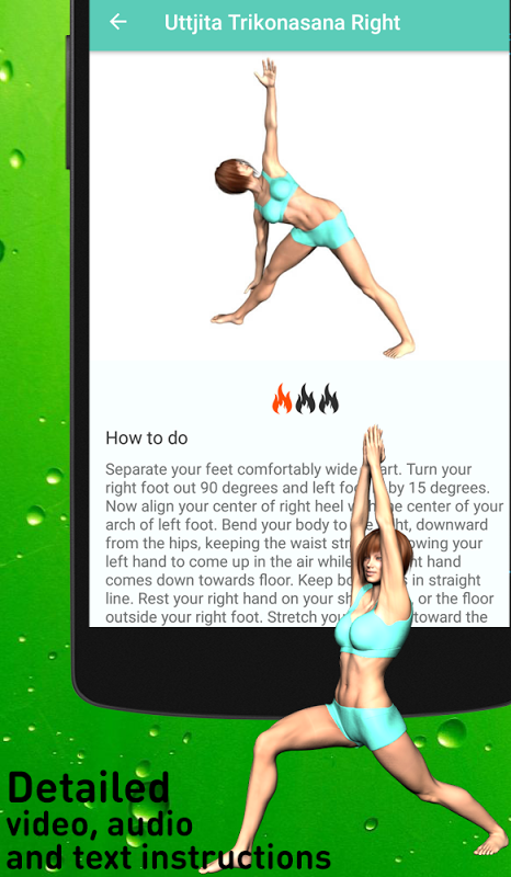 Android Yoga for super weight loss Screen 3