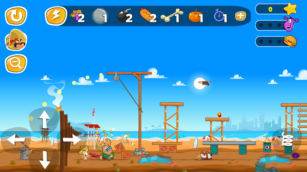Android Jump the Wall - Mexico USA : Catapult, Jump, Escape - Appcoins ed. Screen 6