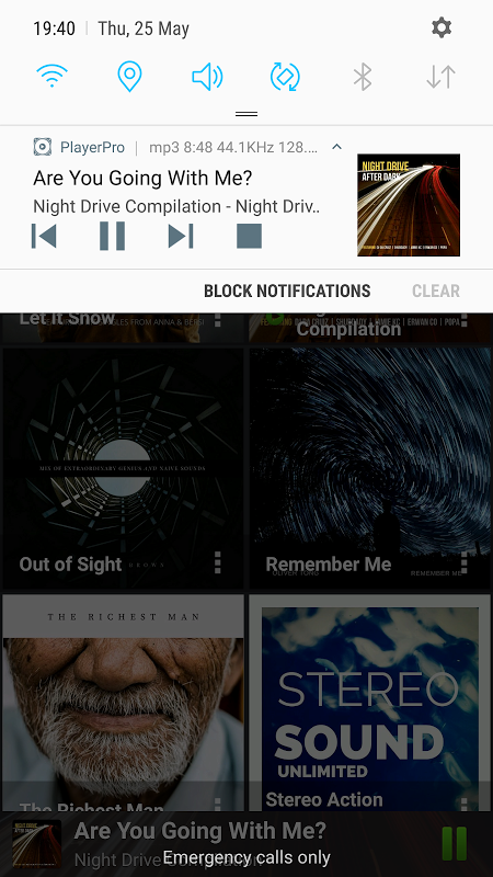 Android PlayerPro Music Player Screen 7