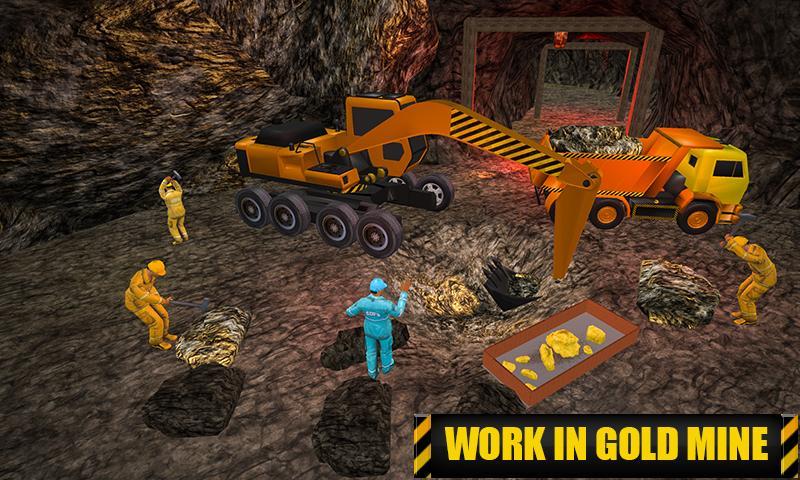 Gold Mine Construction Zone 3D: Crane Operator Sim 1.0.5 Screen 3
