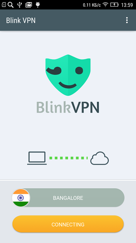 Android Blink VPN Screen 6