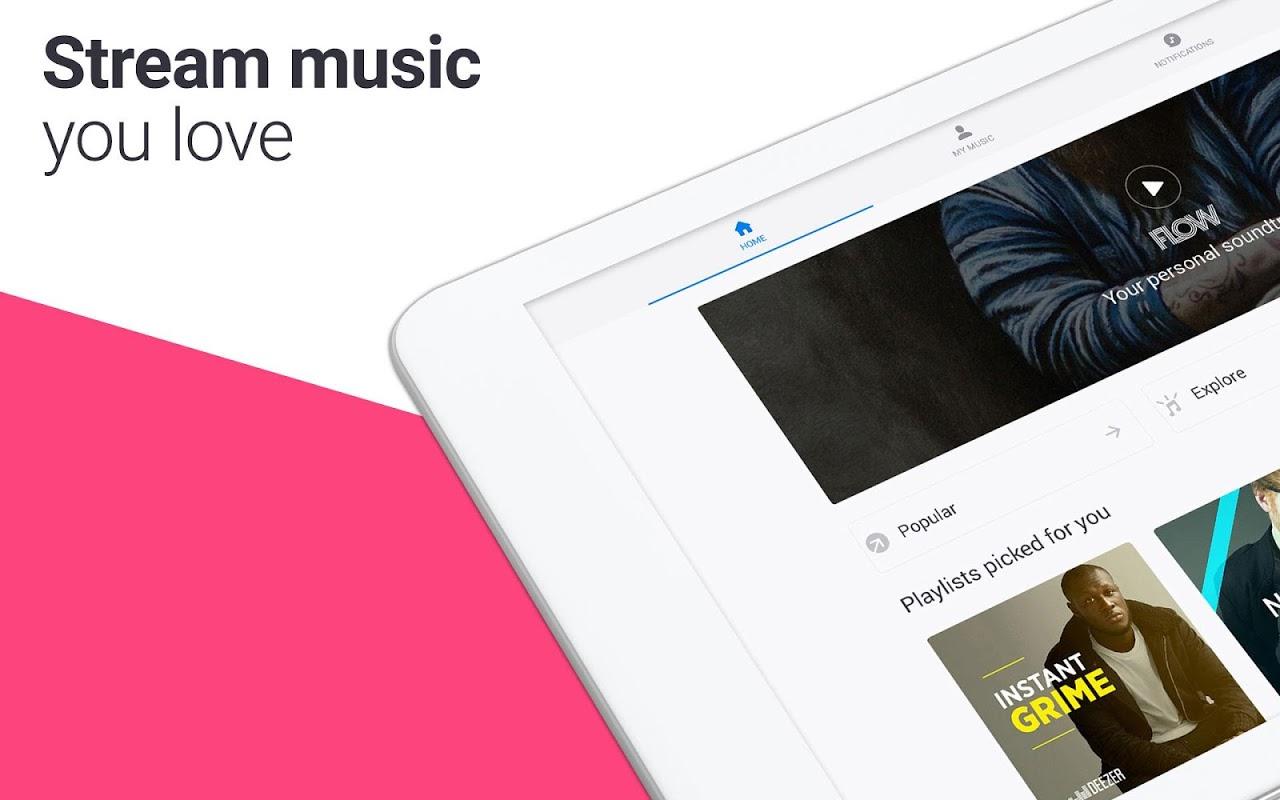 Deezer: Stream Music, Playlists, Albums & Songs 5.4.25.16 Screen 10