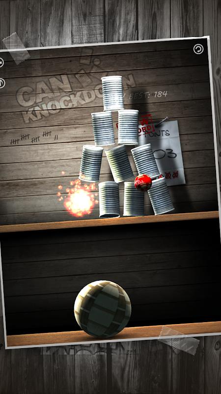 Can Knockdown 1.38 Screen 1