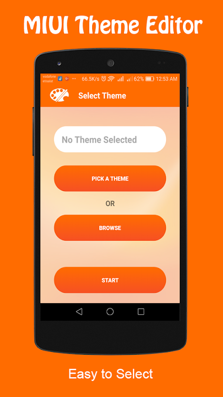 Android Theme Editor For MIUI Screen 1