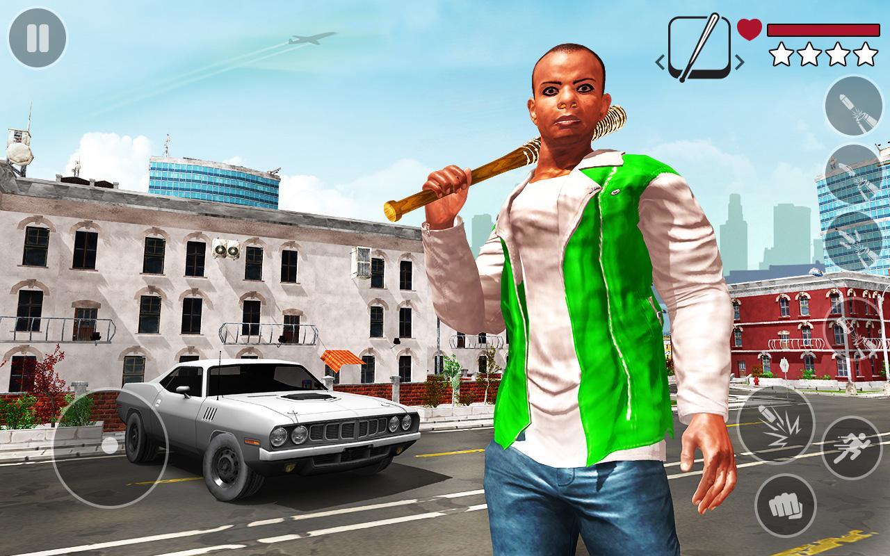 Android Real Gangster Miami Crime : Grand Auto Simulator Screen 3