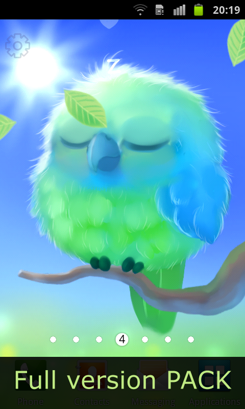 Android Kiwi The Parrot Screen 2