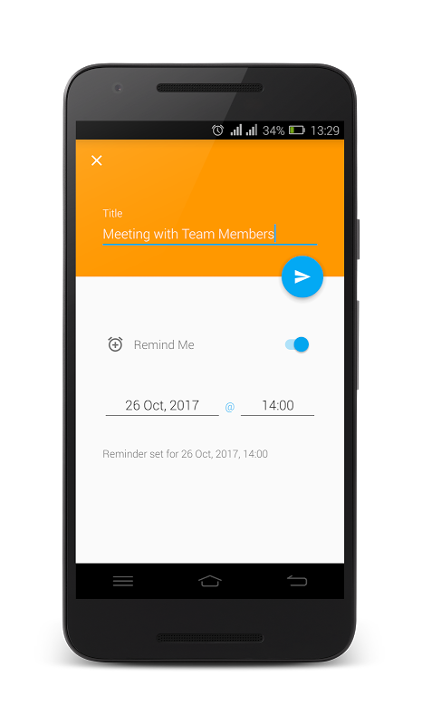 To Do List - Reminder 1.4 Screen 2