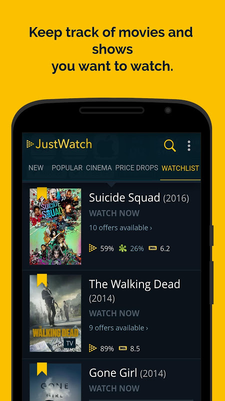 JustWatch - Search Engine for Streaming and Cinema 0.24.58 Screen 5