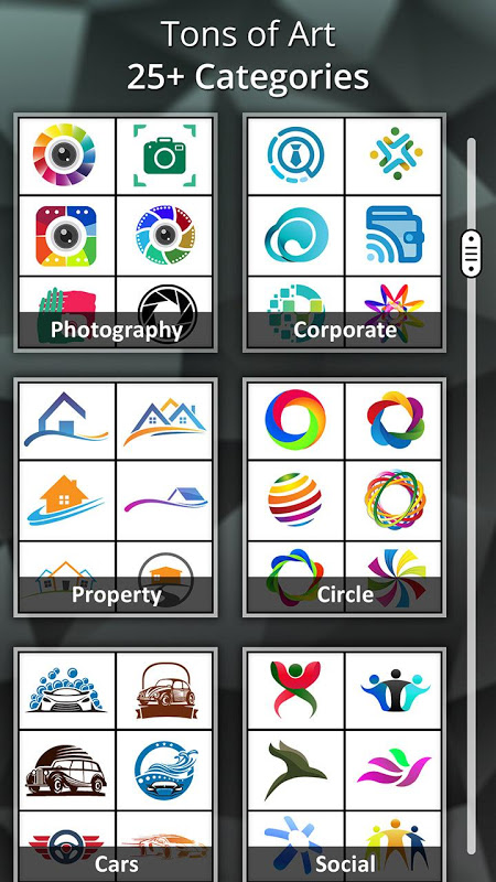 Android Logo Maker - Logo Creator, Generator & Designer Screen 3