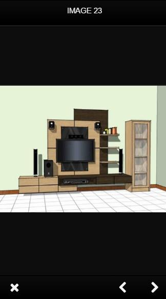 Tv Stand Design 1.1 Screen 1