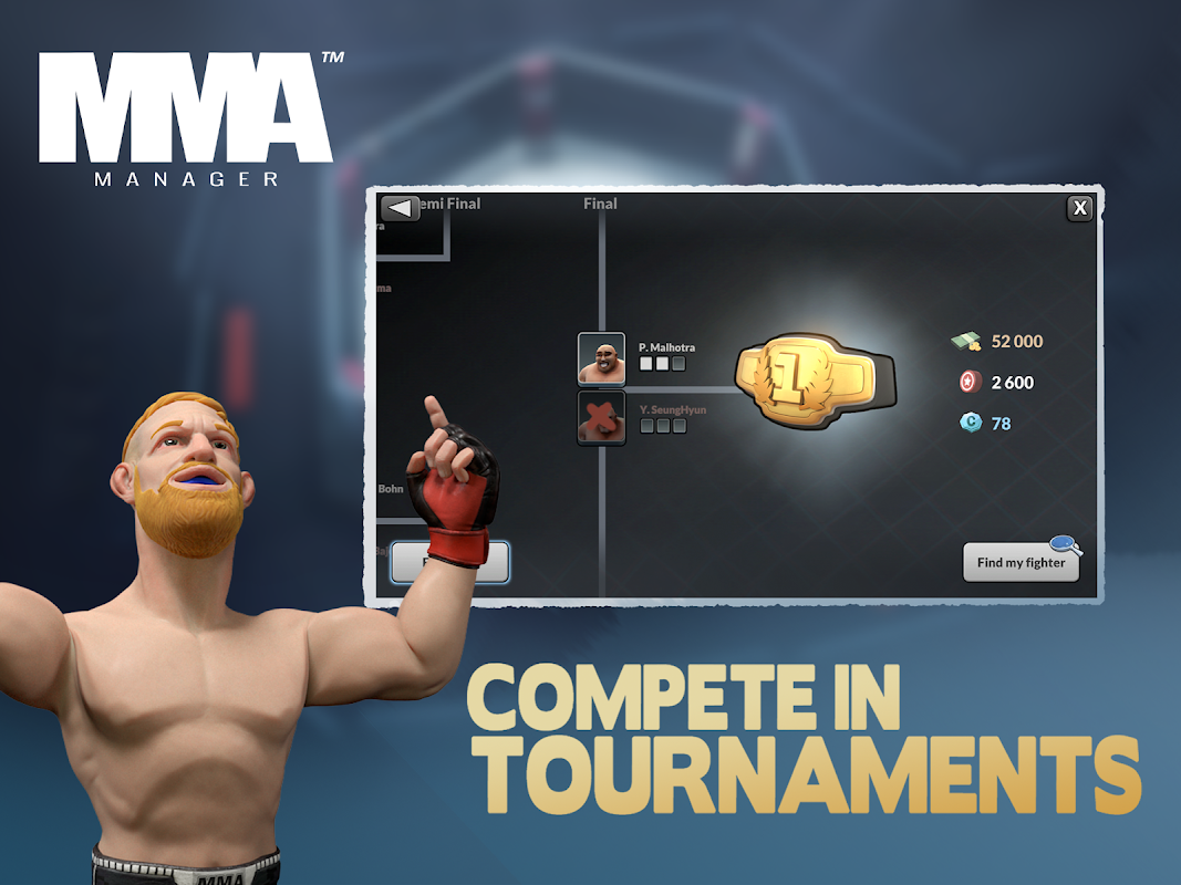 MMA Manager 0.8.4 Screen 10
