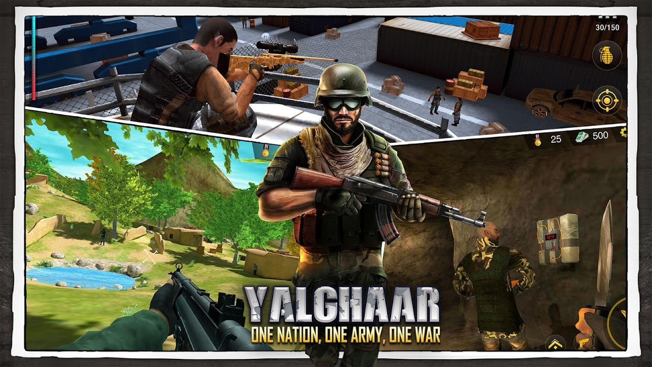 Android Yalghaar: Counter Terrorist Shoot - Free FPS Game Screen 6