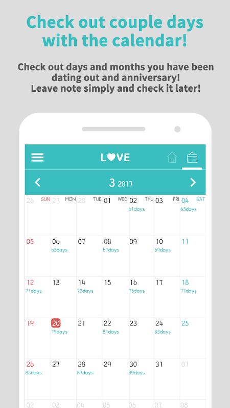 Couple Widget - Love days Countdown 2.0.1 Screen 2