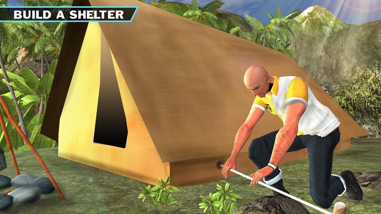 Android Ocean Raft Survival Simulator Screen 1